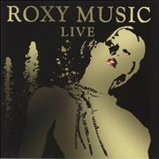 Click here for more info about 'Roxy Music - Live - Orange Vinyl'