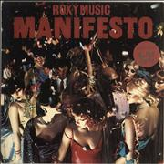 Click here for more info about 'Roxy Music - Manifesto - 'Dance Away' Sticker & Red Inner'