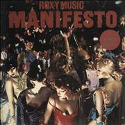 Click here for more info about 'Roxy Music - Manifesto - 'Dance Away' Sticker & Black Inner'