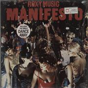 Click here for more info about 'Roxy Music - Manifesto - stickered shrink'
