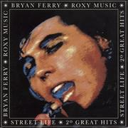Click here for more info about 'Roxy Music - Street Life - 20 Great Hits - EX'