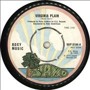 Click here for more info about 'Roxy Music - Virginia Plain - 1st - 4pr'