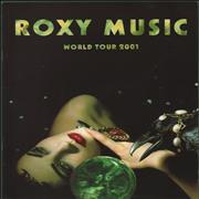 Click here for more info about 'Roxy Music - World Tour 2001'
