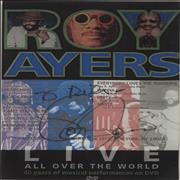 Click here for more info about 'Roy Ayers - Live All Over The World - Autographed'
