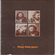 Click here for more info about 'Roy Harper - Concert Programme'