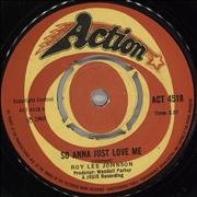 Click here for more info about 'Roy Lee Johnson - So Anna Just Love Me'