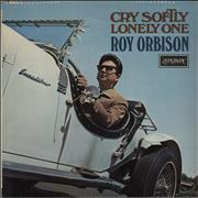 Roy Orbison Cry Softly Lonely One UK vinyl LP