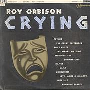 Roy Orbison Crying - 1st UK vinyl LP