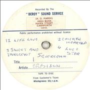 Click here for more info about 'Deroy Sound Service Record'