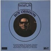Roy Orbison Focus On Roy Orbison UK 2-LP vinyl set