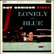 Roy Orbison Lonely And Blue UK vinyl LP