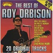 Roy Orbison The Best Of Roy Orbison UK vinyl LP