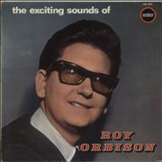 Roy Orbison The Exciting Sounds Of Roy Orbison UK vinyl LP