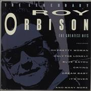 Roy Orbison The Legendary Roy Orbison UK vinyl LP