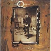 """Roy Orbison You Got It UK 7"""" vinyl"""