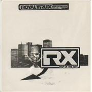 "Royal Trux Map Of The City - Purple Vinyl UK 7"" vinyl"