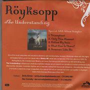 Click here for more info about 'Royksopp - The Understanding - Special AAA Album Sampler'