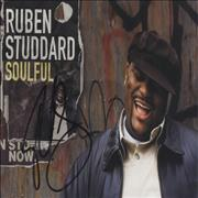 Click here for more info about 'Ruben Studdard - Soulful - Autographed Postcard'