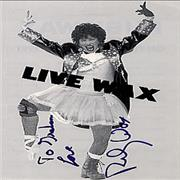 Click here for more info about 'Ruby Wax - Live Wax - Autographed'