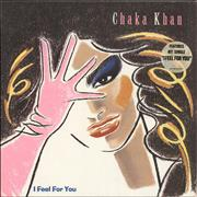 Click here for more info about 'Rufus & Chaka Khan - I Feel For You - stickered p/s'