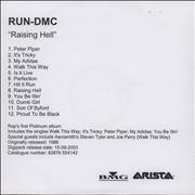 Click here for more info about 'Run DMC - Raising Hell'
