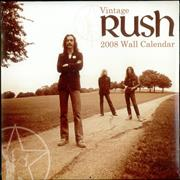 Click here for more info about 'Rush - 2008 Calendar - Sealed'
