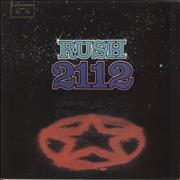 Click here for more info about 'Rush - 2112 [Twenty One Twelve] - Gold Star Stamped'