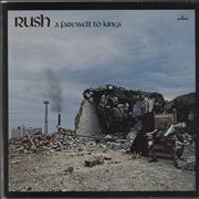 Click here for more info about 'Rush - A Farewell To Kings + Insert'