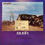 Click here for more info about 'Rush - A Farewell To Kings + Ticket Stub'
