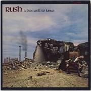 Rush A Farewell To Kings - 1st Canada vinyl LP