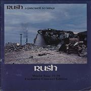 Click here for more info about 'Rush - A Farewell To Kings - EX'