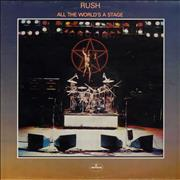 Click here for more info about 'Rush - All The World's A Stage - EX'