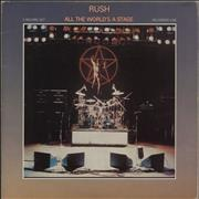 Click here for more info about 'Rush - All The World's A Stage - VG'