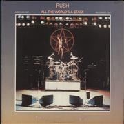 Click here for more info about 'Rush - All The World's A Stage'