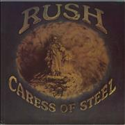 Rush Caress Of Steel USA vinyl LP