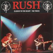 Click here for more info about 'Rush - Closer To The Heart + Sleeve'