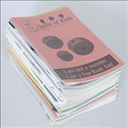 Click here for more info about 'Rush - Collection Of 41 Fanzines'