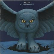 Click here for more info about 'Rush - Fly By Night + Insert - EX'