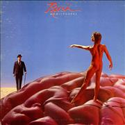 Click here for more info about 'Hemispheres - Red + Poster - EX'
