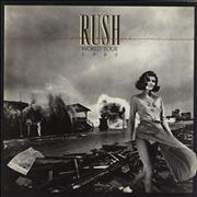 Click here for more info about 'Rush - Permanent Waves World Tour 1980 + ticket stub'