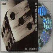 Click here for more info about 'Rush - Roll The Bones - Holographic CD'
