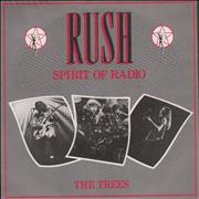 Click here for more info about 'Rush - The Spirit Of Radio - P/S'