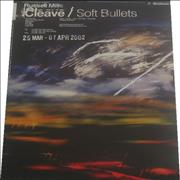 Russell Mills Cleave/Soft Bullets UK poster Promo