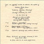 Click here for more info about 'Ruth Price - Wedding Invitation'