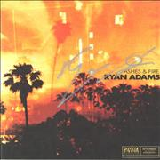 Click here for more info about 'Ryan Adams - Ashes & Fire - Autographed'