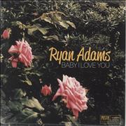 Click here for more info about 'Ryan Adams - Baby I Love You - Pink Vinyl - Sealed'