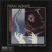 Click here for more info about 'Ryan Adams - Do You Laugh When You Lie? - Blue Vinyl'