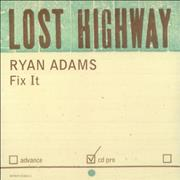 Click here for more info about 'Ryan Adams - Fix It'