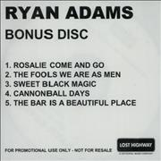 Click here for more info about 'Ryan Adams - Gold - Bonus Disc'