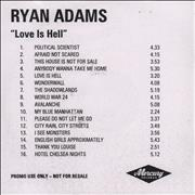 Click here for more info about 'Ryan Adams - Love Is Hell'